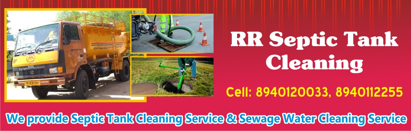 Rr Septic Tank Cleaning in Avadi