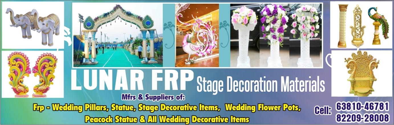 Top 10 FRP WEDDING DECORATION ITEM in Chennai, Manufacturers