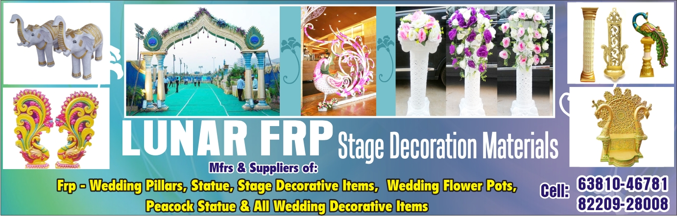 Lunar Frp Stage Decoration Materials in Thanjavur